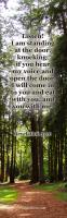 View the image: Listen, Revelation 3:20