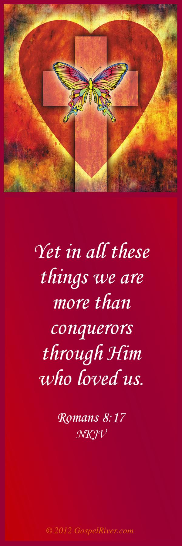 GospelRiver Christian Gallery | English | Romans 8:37 NKJV